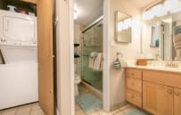 Ensuite washer and dryer!