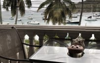Front Balcony overlooking Cruz Bay Harbor