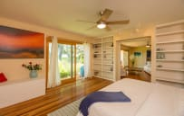 Master Bedroom with view to Maui Golf Course