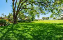 Backyard with Maui Golf Course