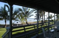 "View from the Lanai. A great place to relax and watch for the ""green flash""."