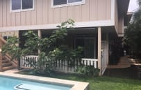 the pool is easily accessible from the Ohana