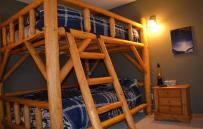 Second set of queen bunk beds.
