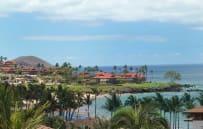 Oceanview from back-of-properpty villas