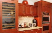 Built-in wine refrigerator