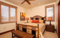 Second bedroom - sample villa