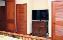 Second bedroom flat screen TV
