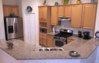 Kitchen - With Granite Countertops