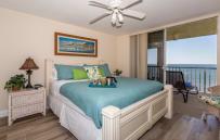 Master King sizeBeautyRest  mattress overlooking Gulf of Mexico