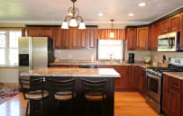 Brand new kitchen with all new appliances.