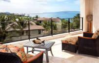 Private oceanview deck, 3rd floor villa - sample villa