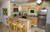 Upper level full kitchen