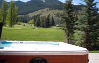 Soak in the Private Hot Tub!
