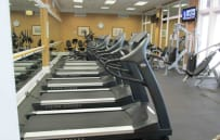 Work out room and keep up with current events