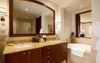 Master bathroom with deep soaking tub - sample villa