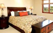 Master bedroom - sample villa