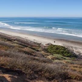 Beach 2 blocks away, easy walk