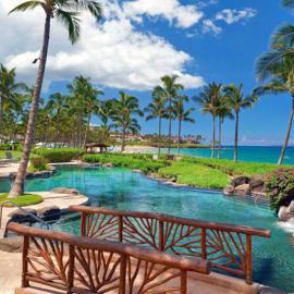 Beachfront adult pool