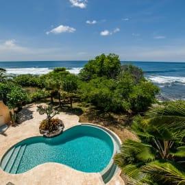 Oceanfront Pool and Pacific Ocean