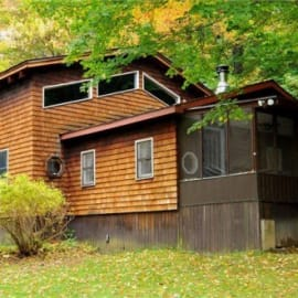 Exterior View of Cabin - 8 acres surrounded by forest