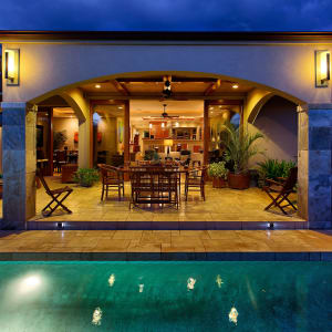 Open Tropical Living From The Kitchen To Your PRIVATE Pool And BBQ