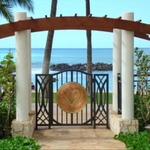 Entry way to Ko Olina Lagoon Two