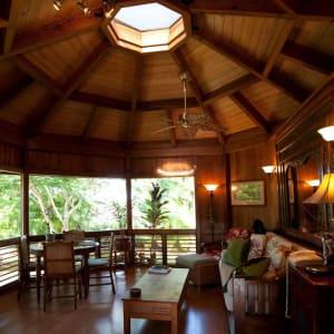 Unique architecture, plus wonderful light and great ventilation...