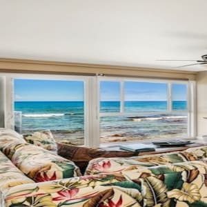 Beautiful views from Living Room