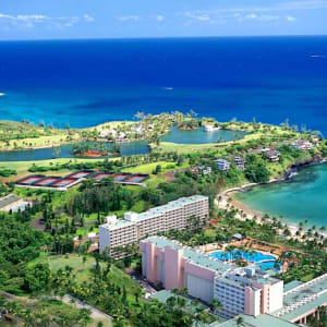 View of Resort from the Air