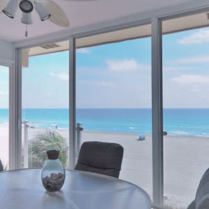 Slide the floor-to-ceiling glass panels open to enjoy the gulf breeze with your morning coffee and you may never leave the lanai