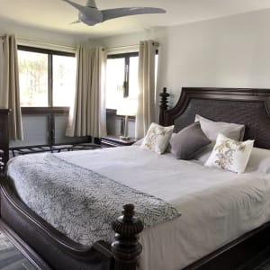 Elegant comfort, Cal King, Tommy Bahama bedroom suite