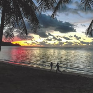A magical sunset at Anini.