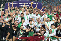 Algeria won the second African Cup of...