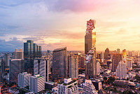 King Power Mahanakhon is famous for...