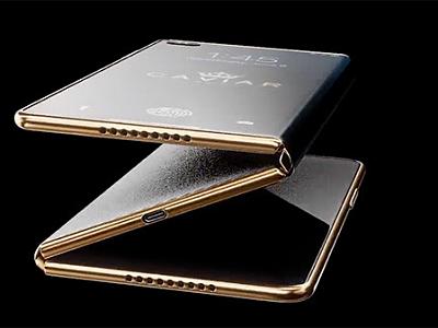 Caviar ចេញគំរូរាង iPhone Z បត់ចេញជ...
