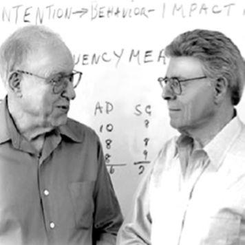 Dr. Allan Katcher und Dr. Stuart Atkins