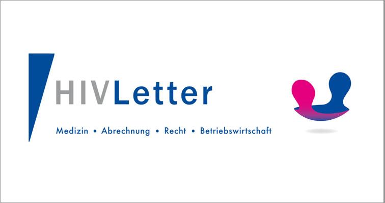 HIV Letter Logo