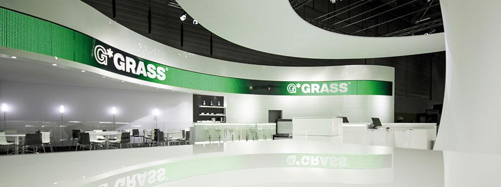 GRÜN. PREISGEKRÖNT. GRASS.  | GRASS<br />INTERZUM<br />KÖLN