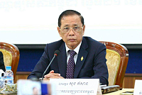 Cambodian workers in Korea joining...