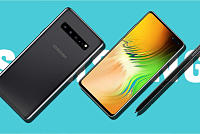 The Galaxy Note10 features a 4500 mAh...