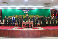 Royal Cambodian Armed Forces Gather...
