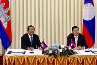 Samdech Hun Sen Arrives by Telephone...