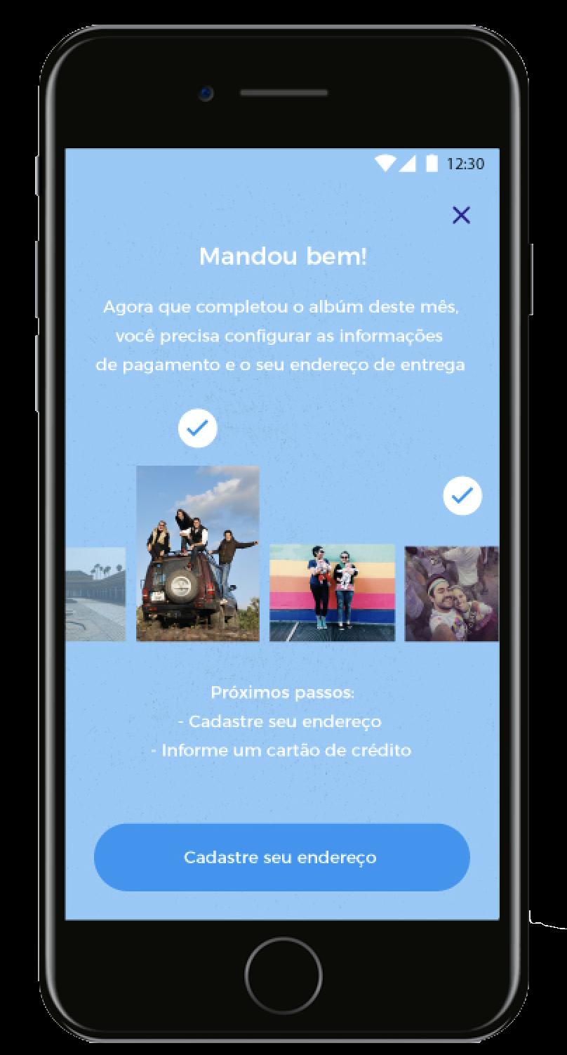 tela do aplicativo da digaxis