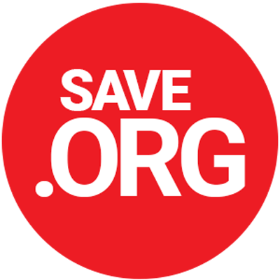 Logo for Save org campaign