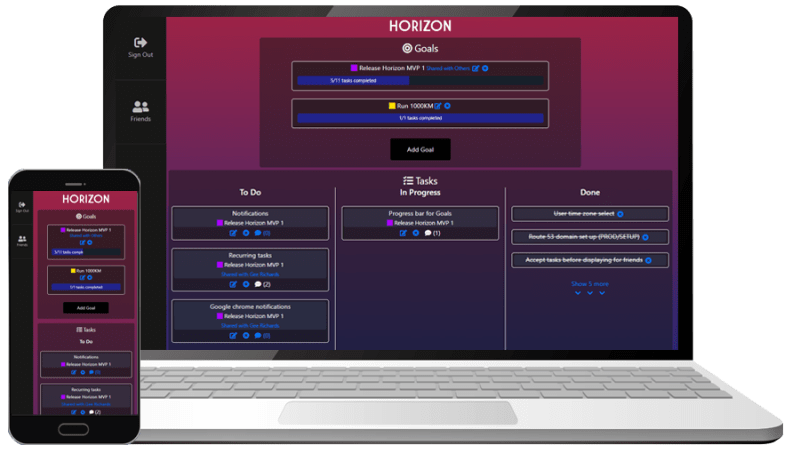 Horizon preview screenshot