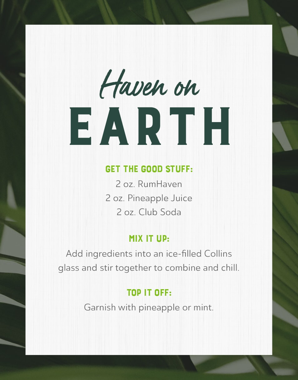 The Haven On Earth Recipe