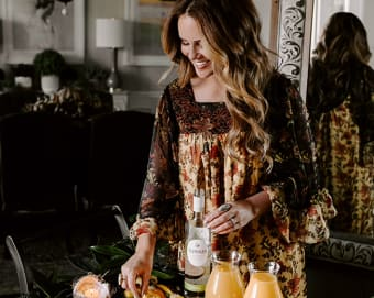 Style a resort-worthy bar cart with Brooke Webb Thumbnail Image