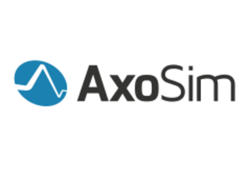 AxoSim, founded by Lowry Curley, PhD, Michael J. Moore, PhD, Ben Cappiello, Drew Mouton