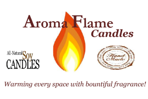 Aroma Flame Candles , founded by Roslyn Coleman Alexander