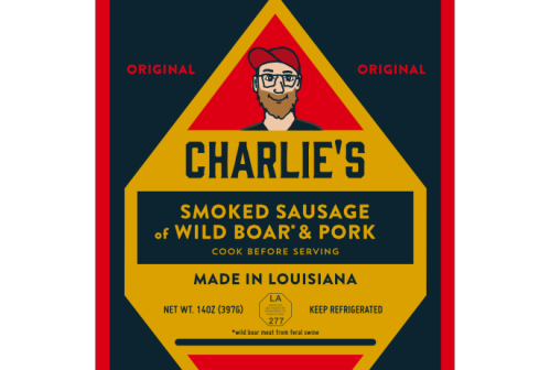 Charlie's Smoke Sausage, founded by Charlie Munford